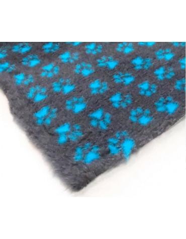 Canifel DryBed Posłanie 150x100cm Small Paw CH/TE - grafit-morski