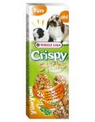 Versele-Laga Crispy Sticks Rabbit & Guinea Pig Carrot - kolby dla królików i świnek z marchewką 110g