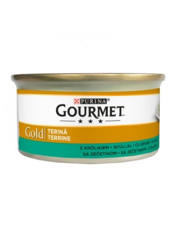 Gourmet Gold Pasztet z królika 85g