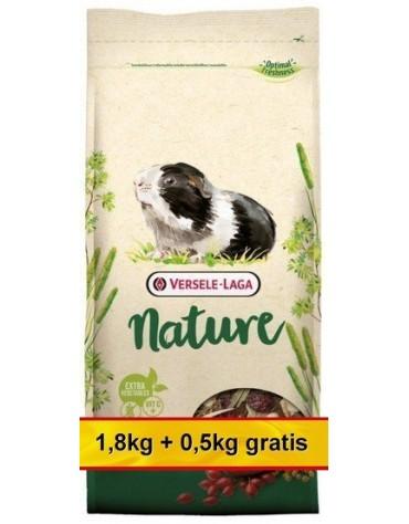 Versele-Laga Cavia Nature pokarm dla świnki morskiej 2,3kg (1,8kg+0,5kg gratis)