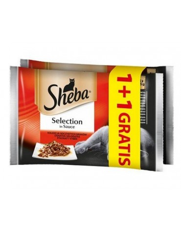 Sheba Selection Soczyste smaki - saszetki 4+4 gratis 8x85g