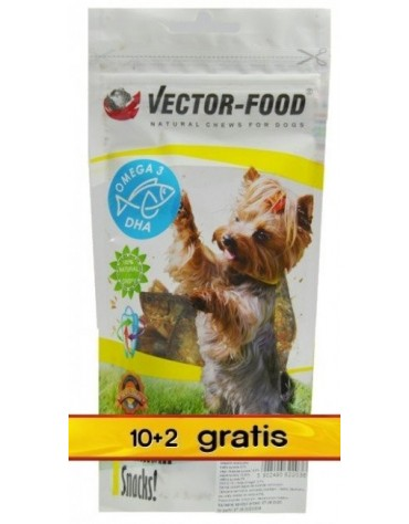 Vector-Food Suszona rybka (sardynka) - Pakiet 10+2 gratis 12x50g