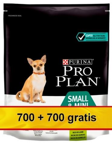 Purina Pro Plan Adult Small & Mini OptiDigest Sensitive Digestion Lamb 1,4kg (700+700g gratis)