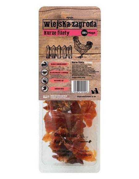 Wiejska Zagroda Przysmaki - Kurze filety 80g