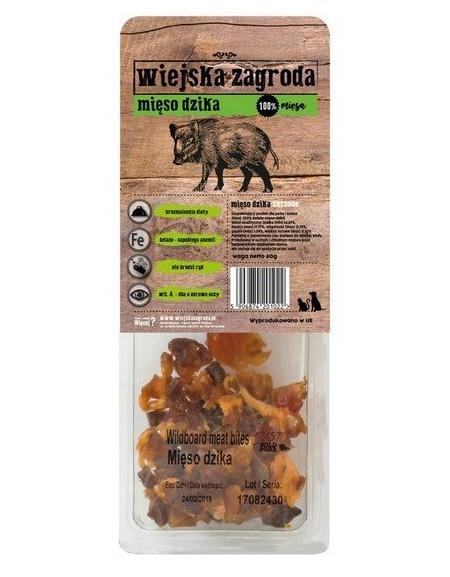 Wiejska Zagroda Przysmaki - Mięso dzika 80g