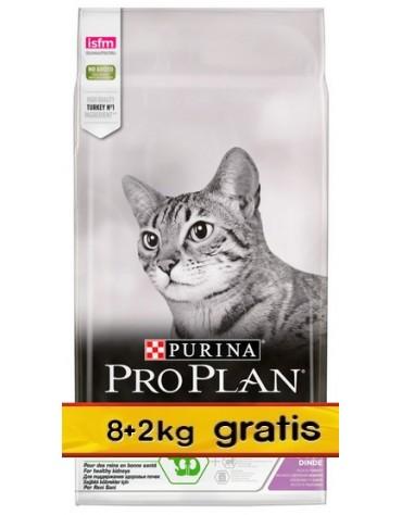 Purina Pro Plan Cat Sterilised Optirenal Turkey 10kg (8+2kg gratis)