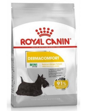 Royal Canin Mini Dermacomfort karma sucha dla psów dorosłych, ras małych o wrażliwej skórze skłonnej do podrażnień 1kg