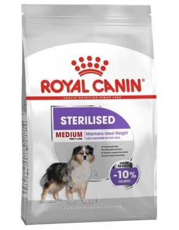 Royal Canin Medium Sterilised karma sucha dla psów dorosłych, ras średnich, sterylizowanych 10kg