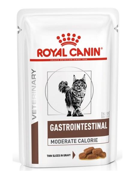 Royal Canin Veterinary Diet Feline Gastro Intestinal Moderate Calorie saszetka 85g