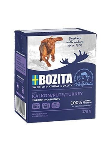 Bozita Dog Tetra Recart z indykiem w galaretce kartonik 370g