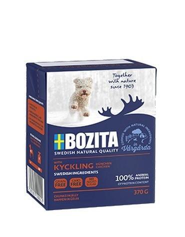 Bozita Dog Tetra Recart z kurczakiem w galaretce kartonik 370g