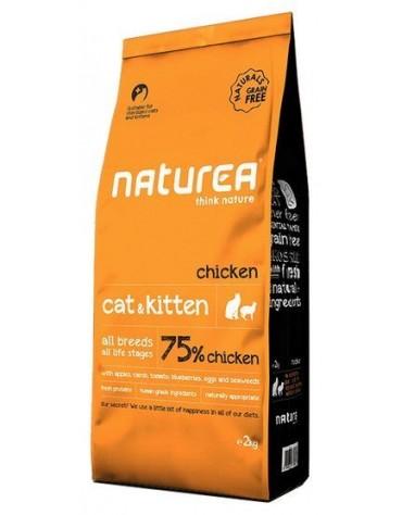 Naturea Cat & Kitten Kurczak 2kg