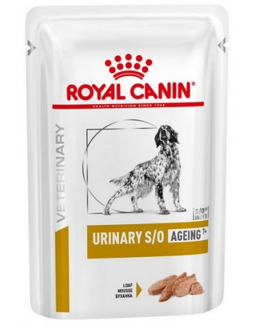 Royal Canin Veterinary Diet Canine Urinary S/O Ageing +7 saszetka 100g