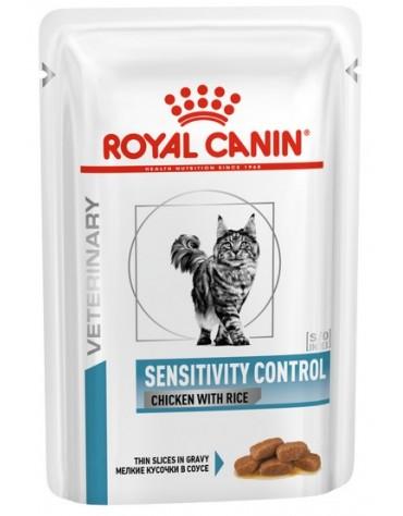 Royal Canin Veterinary Diet Feline Sensitivity Control saszetka 85g