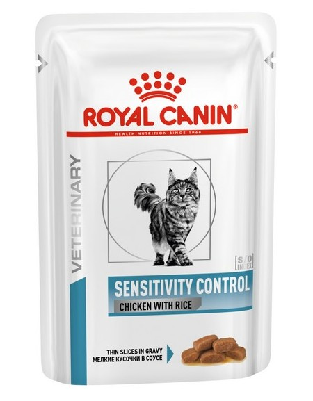 Royal Canin Veterinary Diet Feline Sensitivity Control saszetka 85g