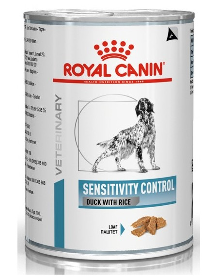 Royal Canin Veterinary Diet Canine Sensitivity Control kaczka i ryż puszka 420g