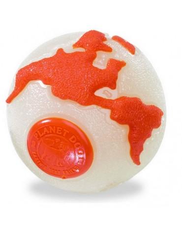 Planet Dog Orbee Ball beżowo-pomarańczowa large [68672]