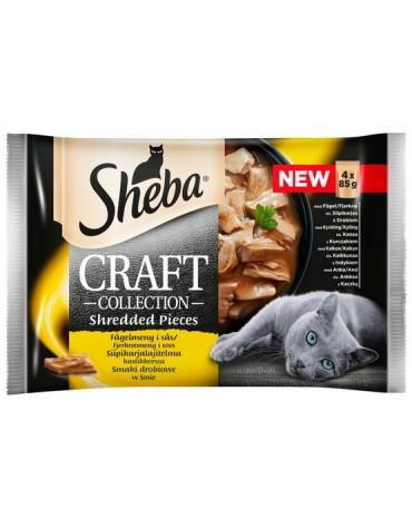 Sheba Craft Collection Smaki drobiowe saszetki 4x85g