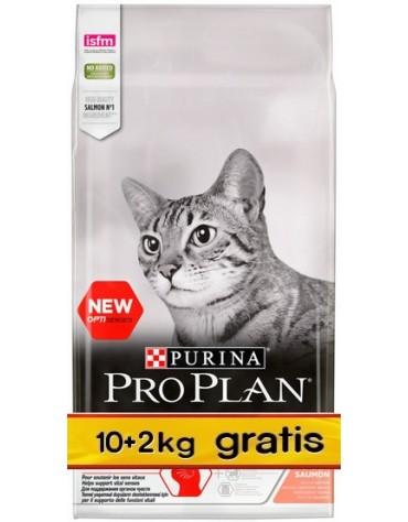 Purina Pro Plan Cat Sterilised Optisenses Salmon 12kg (10+2kg gratis)