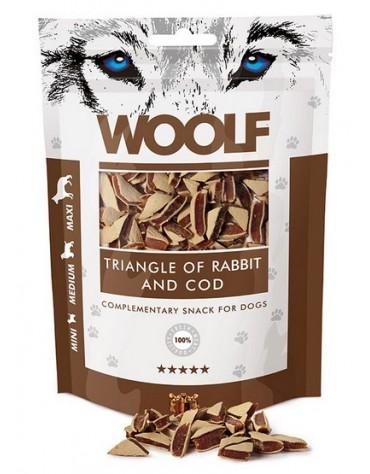 Woolf Rabbit & COD Triangle 100g