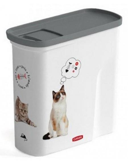 Curver Pet Life Pojemnik na kocią karmę 1kg / 2L