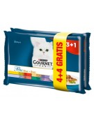 Gourmet Perle Duet Mięsny 4+4 gratis saszetki 8x85g