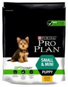 Purina Pro Plan Puppy Small & Mini OptiStart Kurczak 700g