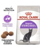 Royal Canin Sterilised karma sucha dla kotów dorosłych, sterylizowanych 10kg