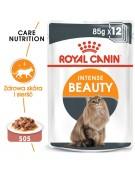 Royal Canin Intense Beauty w sosie  karma mokra dla kotów dorosłych, zdrowa skóra, piękna sierść saszetka 85g