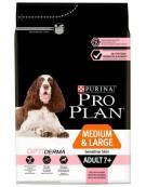 Purina Pro Plan Adult 7+ Medium & Large OptiDerma Sensitive Skin 3kg