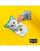 Kit Cat PurrPuree Tuna & Fiber Hairball 4x15g