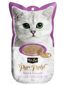 Kit Cat PurrPuree Tuna & Scallop 4x15g