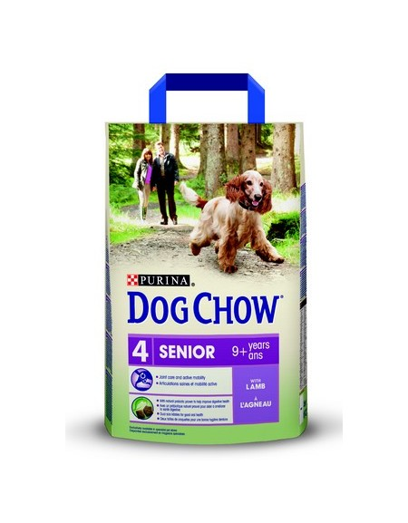 Purina Dog Chow Senior Jagnięcina 2,5kg