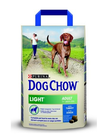 Purina Dog Chow Light Turkey 2,5kg