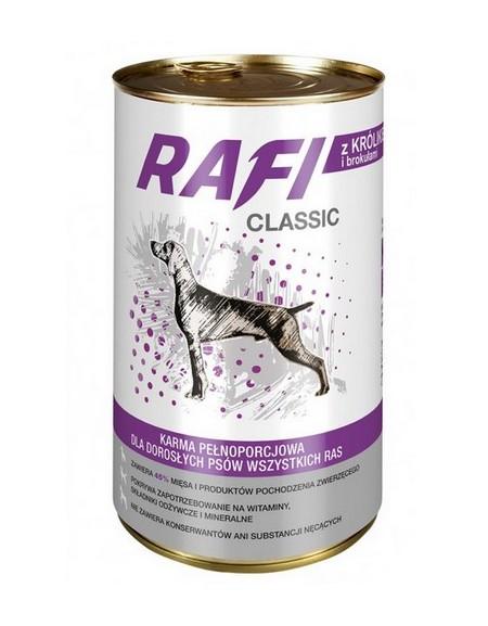 Rafi Pies Classic Królik i brokuły w sosie 1250g