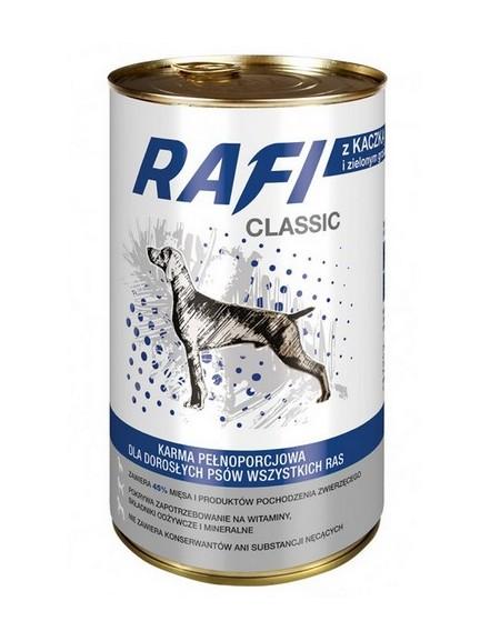 Rafi Pies Classic Kaczka i groszek w sosie 1250g