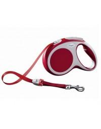 Flexi Vario Smycz taśma M 5m czerwona [FL-0012]
