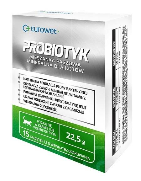 Eurowet Probiotyk dla kotów - saszetka 1,5g