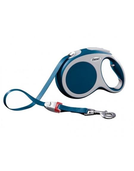 Flexi Vario Smycz taśma L 5m niebieska [FL-0128]