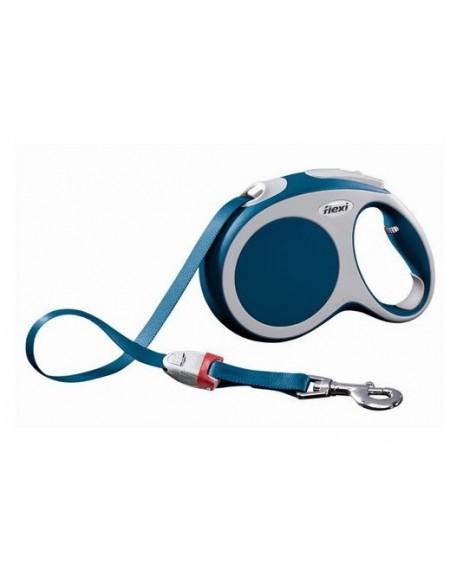 Flexi Vario Smycz taśma L 8m niebieska [FL-0227]