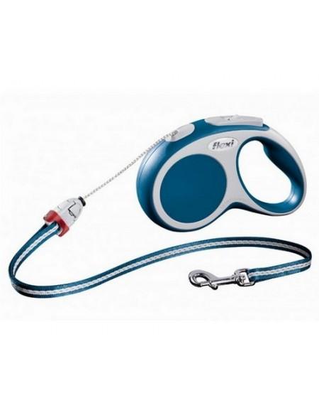 Flexi Vario Smycz linka S 5m niebieska [FL-9122]