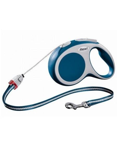 Flexi Vario Smycz linka S 8m niebieska [FL-9320]