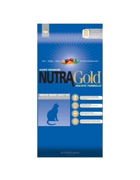 Nutra Gold Holistic Indoor Senior Cat 3kg