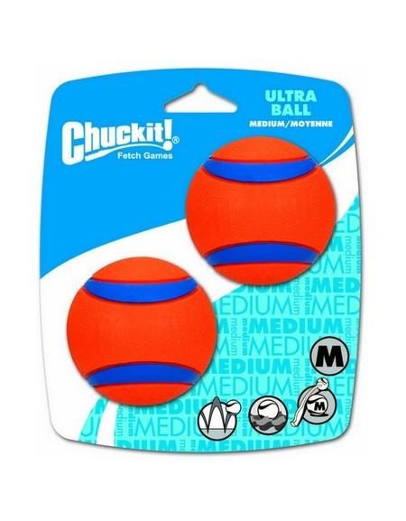 Chuckit! Ultra Ball Medium dwupak [17001]