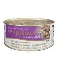 Applaws puszka dla kota Jelly - Makrela i Dorada 70g