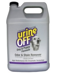 Urine Off Dog & Puppy Odor & Stain Remover - do usuwania plam moczu 3,78L