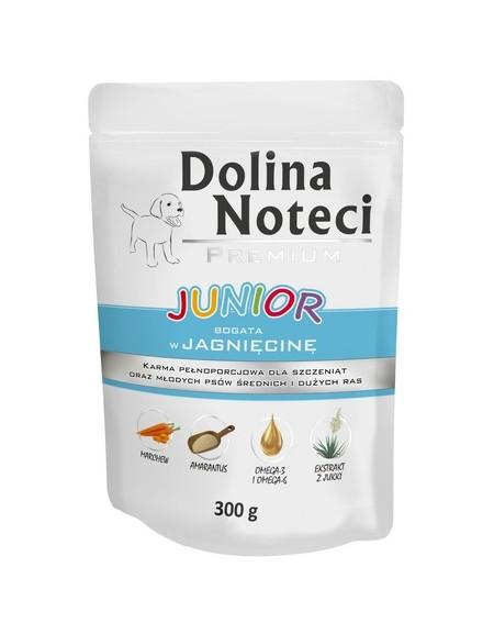 Dolina Noteci Premium Pies Junior Jagnięcina saszetka 300g