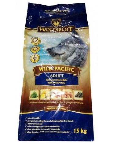 Wolfsblut Dog Wild Pacific ryby i ziemniaki 15kg