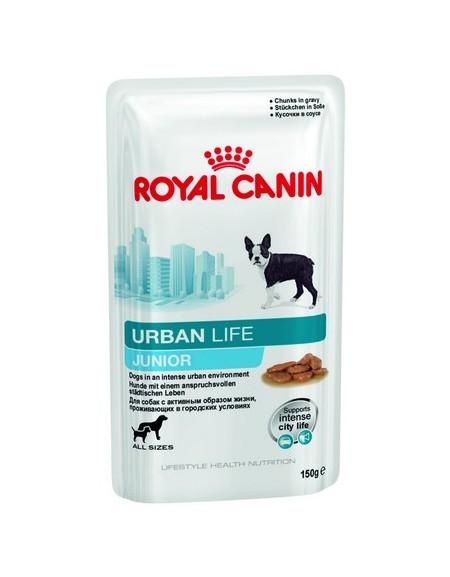 Royal Canin Urban Life Junior karma mokra dla szczeniąt, żyjących w środowisku miejskim saszetka 150g