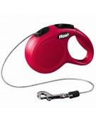 Flexi New Classic Smycz linka XS 3m czerwona [FL-2405]